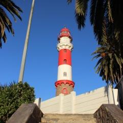 Fast wie zuhause - ein norddeutscher Leuchtturm in Swakopmund