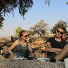 Den Sonntagnachmittag verbrachten wir auf der Farm Krumhuk, ein paar Kilometer außerhalb von Windhoek
