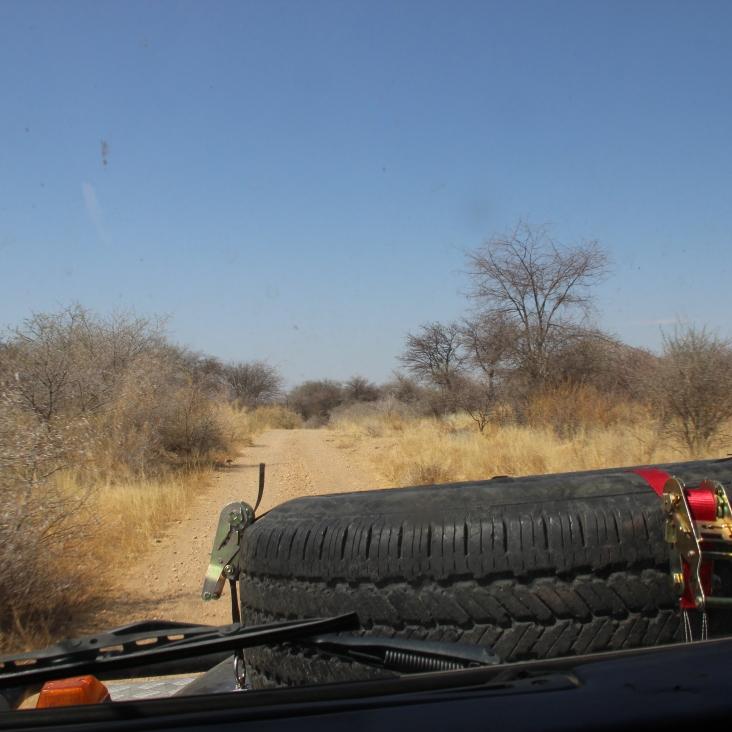 Die Fahrt im Land Rover war schon ein Erlebnis für sich