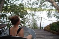 Ein unschlagbares Badeerlebnis bietet Ngepi auch