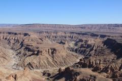 Der Blick in den Canyon zur Mittagszeit